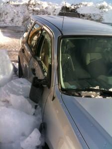 Valdez Snow Damage